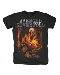 AVENGED SEVENFOLD - Fire Bat - T-Shirt