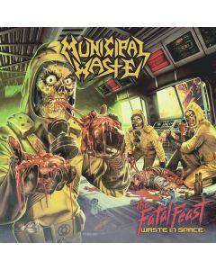 MUNICIPAL WASTE - The fatal feast  - CD
