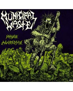 MUNICIPAL WASTE - Massive aggressive - CD