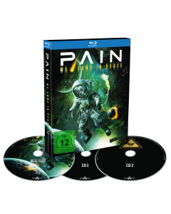 PAIN - We Come in Peace - BlueRay + 2CD