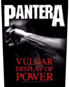 PANTERA - Vulgar - Display of Power - Backpatch / Rückenaufnäher