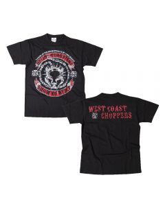 WEST COAST CHOPPERS - Hells Guardian Pitbull - T-Shirt