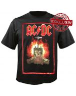 AC/DC - T.N.T. - Fire - Black - T-Shirt