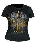 CRIPPER - Into the Fire - GIRLIE - Shirt