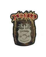 TANKARD - Bierfass - Patch / Aufnäher