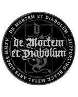 DE MORTEM ET DIABOLUM - Black Metal Arts since MMXV - Patch / Aufnäher