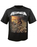 HELLOWEEN - Walls of Jericho - Black - T-Shirt