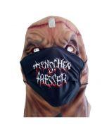 MENSCHENFRESSER - Logo - Maske - Mund - Nasenschutz