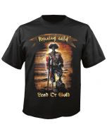 RUNNING WILD - Cover - Lead or Gold - T-Shirt