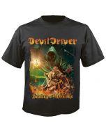 DEVILDRIVER - Dealing with Demons - Vol. I - Cover - T-Shirt