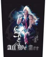 DORO - All We Are - Backpatch / Rückenaufnäher