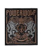 POWERWOLF - Crest - gestickt - Patch / Aufnäher
