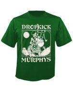 DROPKICK MURPHYS - Skelly Piper - Green - T-Shirt