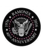 RAMONES - 40th Anniversary - Patch / Aufnäher