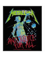 METALLICA - And Justice for All - Patch / Aufnäher