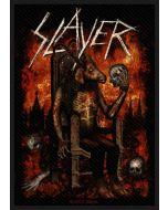SLAYER - Devil on Throne - Patch / Aufnäher
