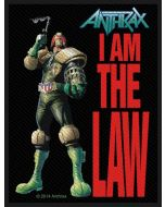 ANTHRAX - I Am the Law - Patch / Aufnäher