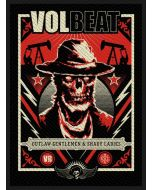VOLBEAT - Ghoul Frame - Patch / Aufnäher