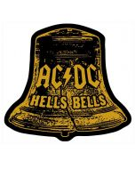 AC/DC - Hells Bells - Cut Out - Patch / Aufnäher