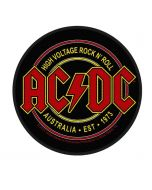 AC/DC - Rock n Roll - High Voltage - Patch / Aufnäher