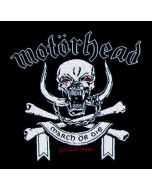 MOTÖRHEAD - March or Die - Patch / Aufnäher