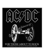 AC/DC - For Those about to Rock - Patch / Aufnäher