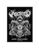 ABORTED - God of Nothing - Patch / Aufnäher