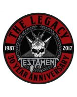 TESTAMENT - The Legacy - 30th Anniversary - Patch / Aufnäher