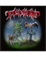 TANKARD - One Foot in the Grave - Patch / Aufnäher