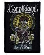 KORPIKLAANI - A Man with a Plan - Patch / Aufnäher