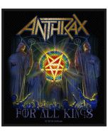 ANTHRAX - For All Kings - Patch / Aufnäher