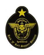 MOTÖRHEAD - Support Division - Cut Out - Patch / Aufnäher