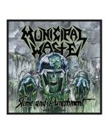 MUNICIPAL WASTE - Slime and Punishment - Patch / Aufnäher