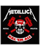 METALLICA - Metal Militia - Patch / Aufnäher