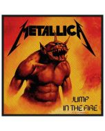 METALLICA - Jump in the Fire - Patch / Aufnäher
