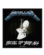 METALLICA - Metal up your Ass - Patch / Aufnäher