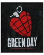 GREEN DAY - Heart Granate - Patch / Aufnäher