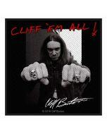 METALLICA - Cliff Burton - Cliff em All - Patch / Aufnäher