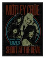 MÖTLEY CRÜE - Shout at the Devil - Patch / Aufnäher