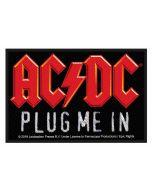 AC/DC - Plug me in - Patch / Aufnäher