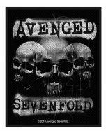 AVENGED SEVENFOLD - Three Skulls - Patch / Aufnäher