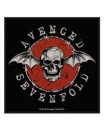 AVENGED SEVENFOLD - Distressed Skull - Patch / Aufnäher
