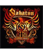 SABATON - Coat of Arms - Patch / Aufnäher