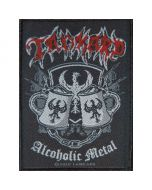 TANKARD - Alcoholic Metal - Patch / Aufnäher