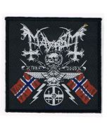 MAYHEM - Coat of Arms - Patch / Aufnäher