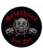 MOTÖRHEAD - Iron Fist - Patch / Aufnäher