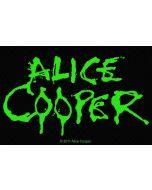 ALICE COOPER - Logo - Patch / Aufnäher