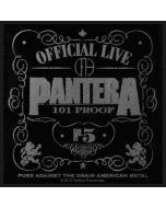 PANTERA - 101% Proof - Patch / Aufnäher