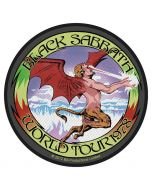 BLACK SABBATH - World Tour 78 - Patch / Aufnäher