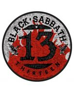 BLACK SABBATH - 13 Flames - Patch / Aufnäher